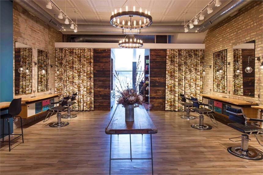 美发店装修设计-成都有木装饰设计